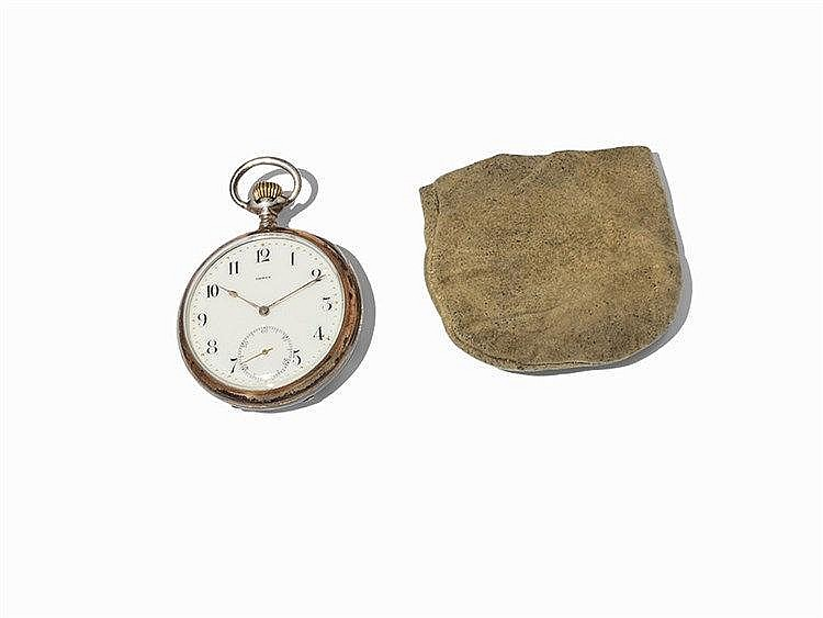 Omega Men's Pocket Watch, Switzerland, 1895-1902