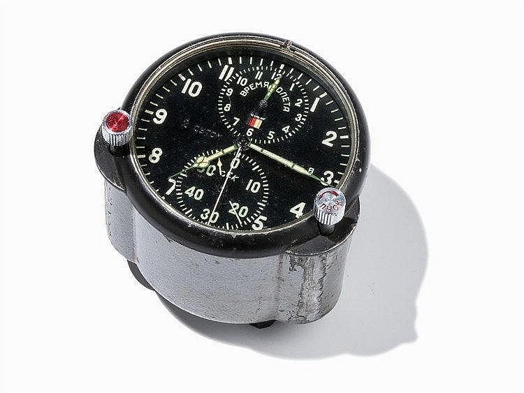 A Russian Cockpit Chronograph, AYC-1, 1950s