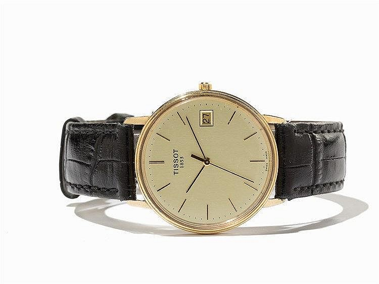 Tissot, T-Classic 14K Gold Wristwatch, Switzerland, 1960s