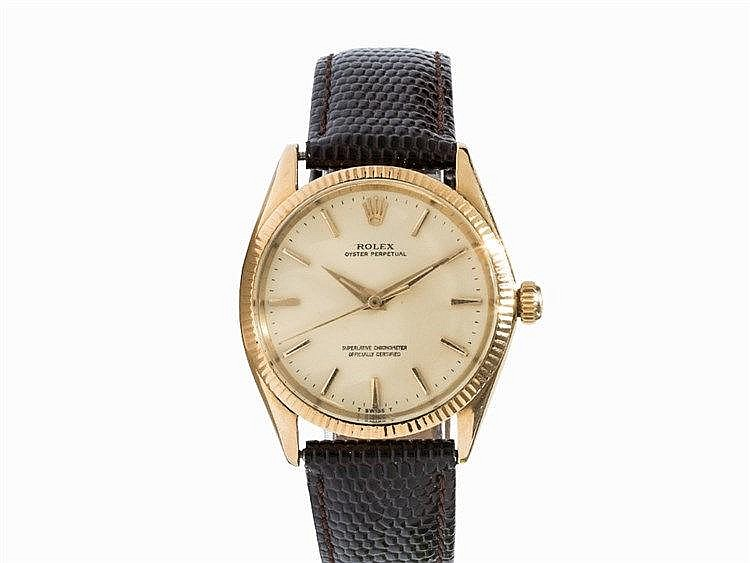 Vintage Rolex Oyster Perpetual Wristwatch, Ref. 1005, c. 1970