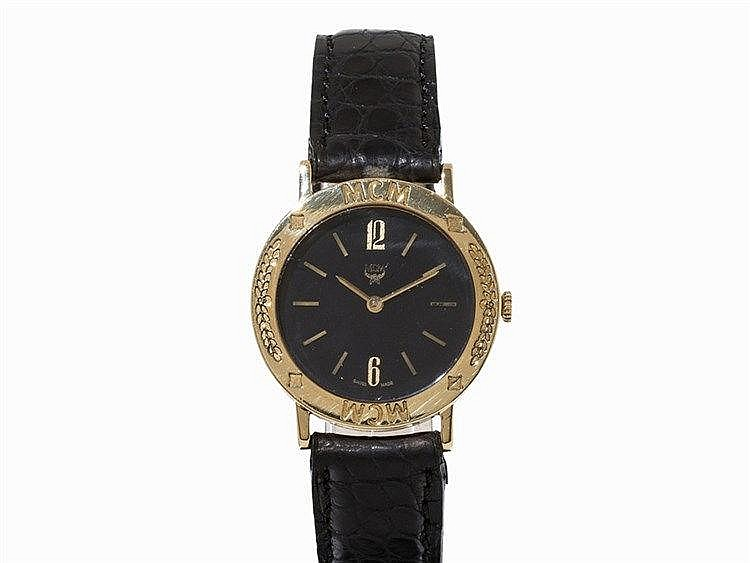 MCM 'Cortez Konquisator', Wristwatch, 18K Yellow Gold, 1980s