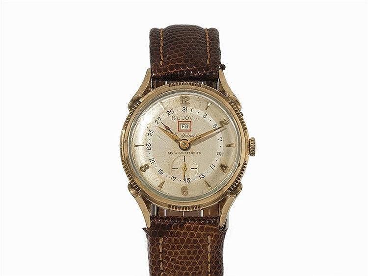 Bulova 23 Jewels Wristwatch, 1950s