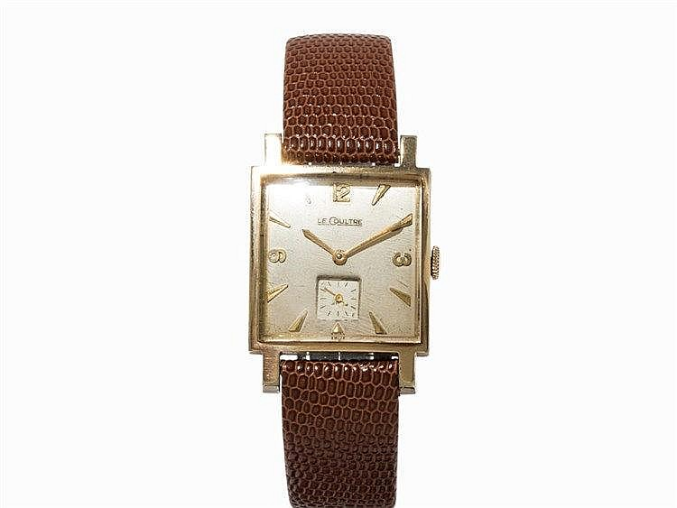 LeCoultre Vintage Wristwatch, Switzerland, 1950s
