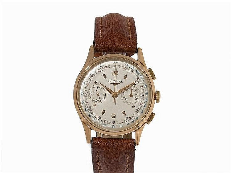 Longines 30CH Flyback Chronograph, 1952