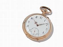 IWC Lepine Pocket Watch, 14K, c. 1894