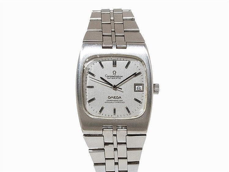 Omega Constellation Chronometer, Wristwatch, 1970s