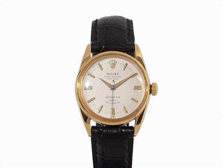 Rolex Oyster Perpetual Precision Meritus, Ref. 6594, 1950s