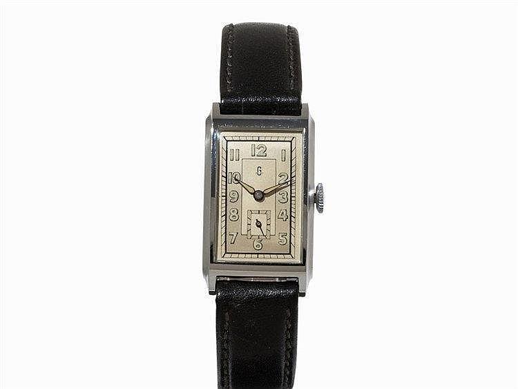 Uhrenfabrik Glashütte, KJ Wristwatch, ca. 1940, Urofa 58