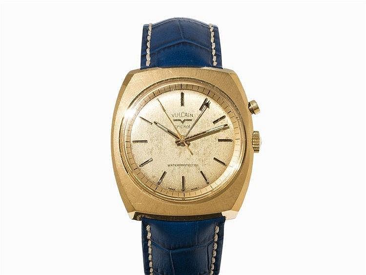 Vintage Vulcain Cricket Wristwatch, Ref. 2312B, c. 1960