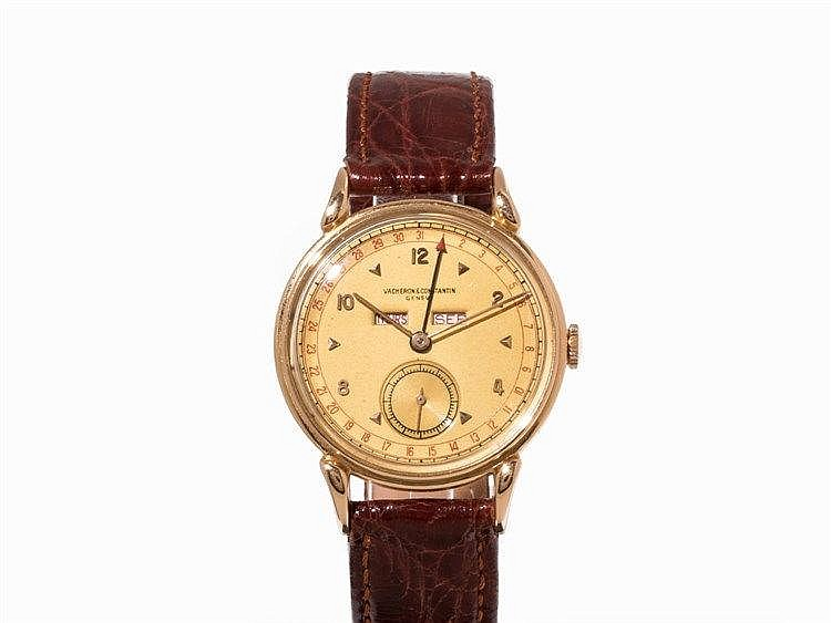 Vacheron Constantin, Calendar Watch, c. 1940 - 1945
