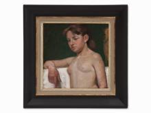 Augusta Thejll Clemmensen, Portrait of a Girl, c. 1920