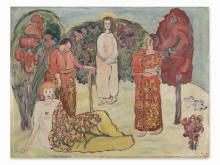 Rudolph Thygesen, Maria Magdalena, Oil, 1931