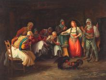 H. Gerard, Oil Painting, Rina de Gallos, Argentina, c. 1950/60
