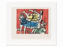Fernand Léger, after La Parade, Lithograph in Colors, c. 1953