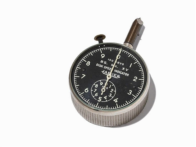 Jaeger-LeCoultre, Disk Speed Indicator Tachymeter, USA, 1930s