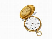 Le Roy & Fils Hunter Pocket Watch, France, c. 1890