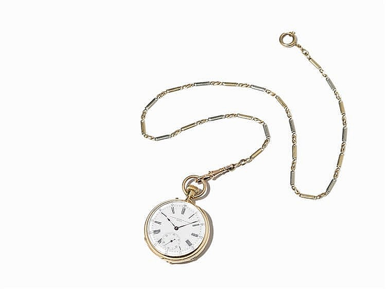 A. Golay-Leresche & Fils Pocket Watch, Switzerland, Around 1920