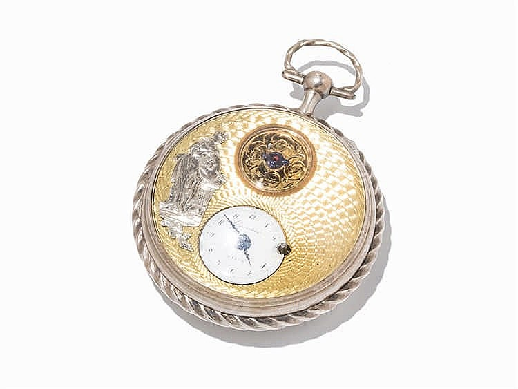 Girardier Laine Pocket Watch, Switzerland, c. 1815