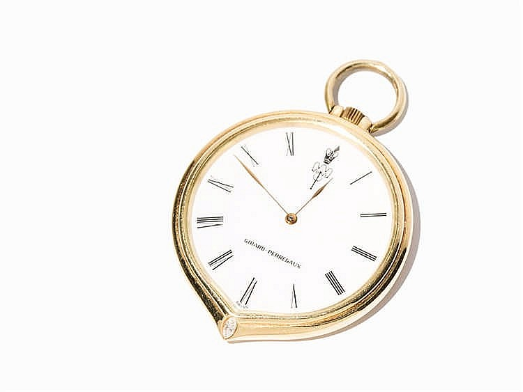 Girard Perregaux Women's Pocket Watch, Switzerland, Around 1960