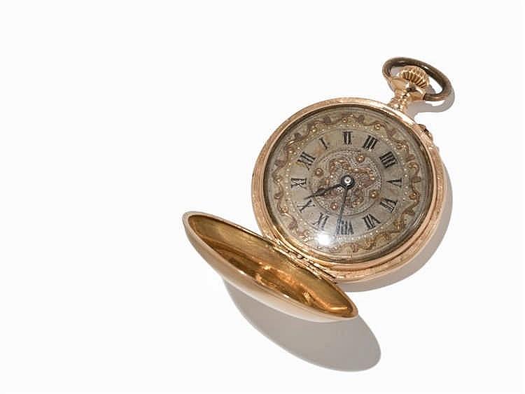 Swiss Woman's Pocket Watch, C. 1882-1892