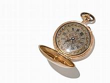 Swiss Woman's Pocket Watch, C. 1882-1892