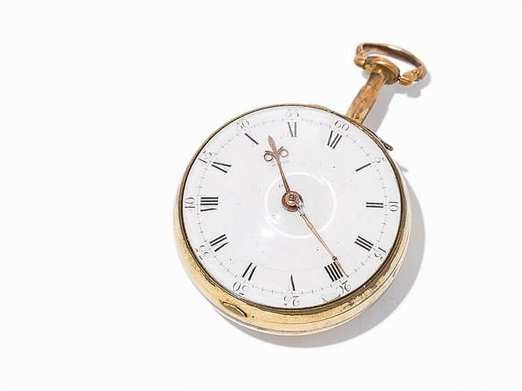 William Thomson Spindle Pocket Watch, Edinburgh, c. 1760