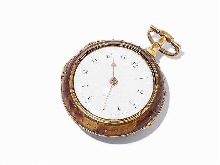 Theo Grant Spindle Pocket Watch, London, c. 1800
