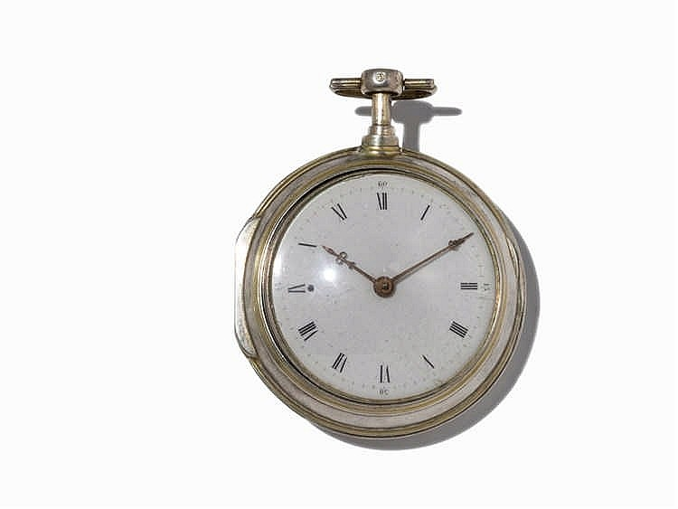 Leon Joseph Mayor Silver Pocket Watch, c. 1850