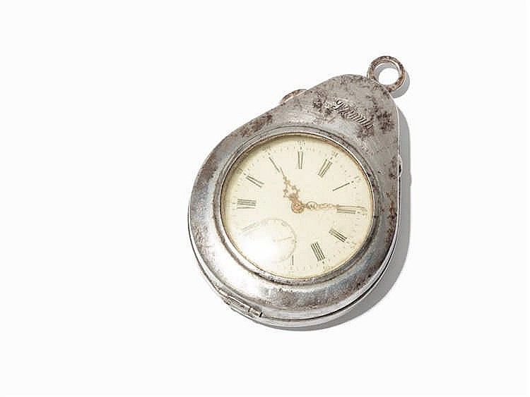 Open Face Pocket Watch, presumably Switzerland, c. 1840