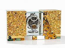 Jaeger LeCoultre Atmos Marqueterie 'The Waiting', 2013