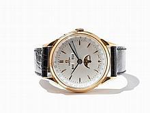 Omega Calendar Wristwatch, Switzerland, Around 1950