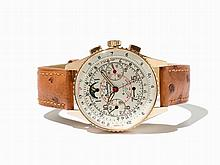 Breitling Chronomat Moon Phase Wristwatch Ref. 806, Around 1965