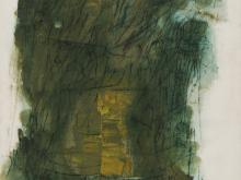 Walter Barker, Forest Series No 7, Oil, 1963