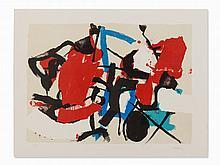 Afro Basaldella, Composizione, Lithograph in Colors, 1965