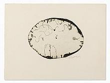 Emil Schumacher, Motiv 7/1967, Aquatint, 1967