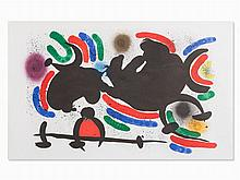 Joan Miró, From: Joan Miró, Lithographe I, Lithograph, 1972