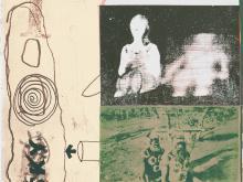 Joe Tilson, Earth Ritual, Serigraph in Colors, 1973