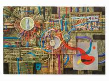 Alexandr Lozovoy, 'Futuristische Abstraktion', Russia, 1980s