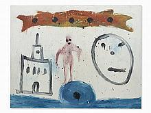 Ferrán Garcia Sevilla, Meroe 3, Oil, 1984