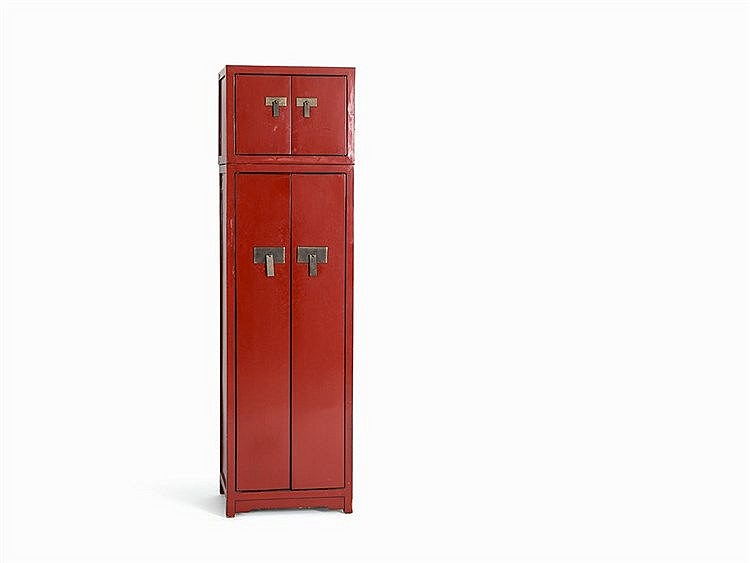 Armoire in the Style of Chinese Wedding Cabinets, c. 2000