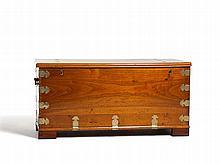 Large Hardwood Storage Chest, China, 17th C.