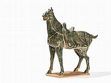 Horse with Green Lead Glaze, Style of the Tang Dynasty