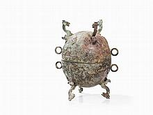 Bronze Vessel of DUI Type, Style of the Zhou Dynasty