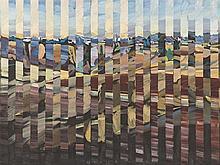 Heinz Greissing, Ansicht von Ronda, Oil Painting, 1986