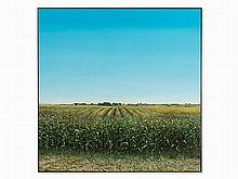 Harold Gregor, Illinois Landscape # 10, Painting, 1975