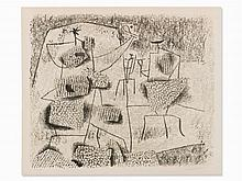 Willi Baumeister, ?Solar Figures?, 1946
