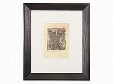 Max Ernst (1891-1976), Etching, 'Texte und Briefe', 1967