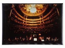 D. Blum, Herbert v. Karajan/Pariser Oper, Cibachrome, 1981