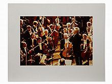 Dieter Blum, Herbert v. Karajan, Cibachrome, 1982