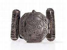 Three-Part Amulet Bracelet, Central Asia, 20th Century